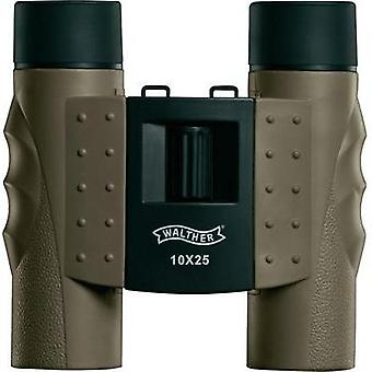 Binoculars Walther Backpack 10 x 25 25 mm Earth-coloured (matt)