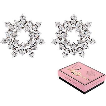 Martine Wester Dress Me Forever Crystal Sunflower Stud Earrings