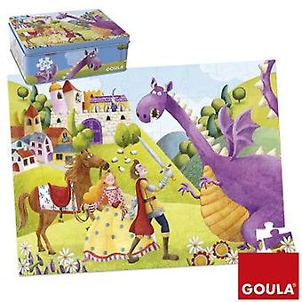 Goula 54 Pieces Puzzle Prince and Dragon (Toys , Boardgames , Puzzles)