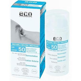 Eco Cosmetics Neutra Lotion (Without Perfume) 50 Fps 100ml. Air-Less