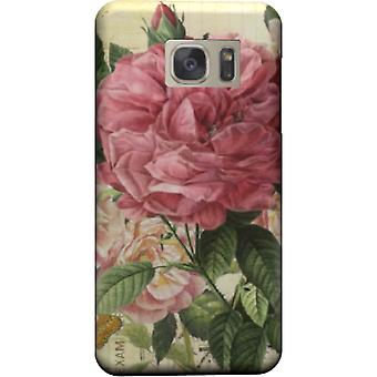 Vintage pink flowers to kill cover Galaxy S6