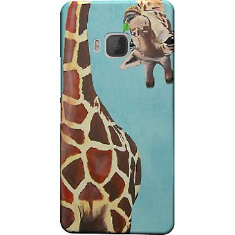 Giraffe with leaf cover for HTC M9