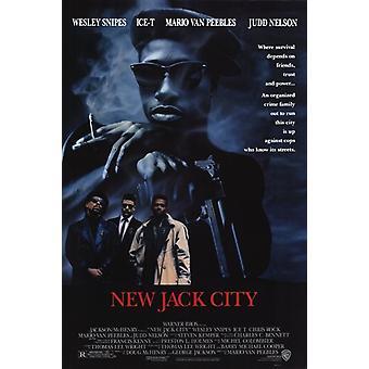 ملصق الفيلم جاك مدينة جديدة (11 × 17)