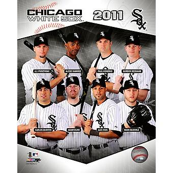 Chicago White Sox 2011 Team sammansatta Photo Print