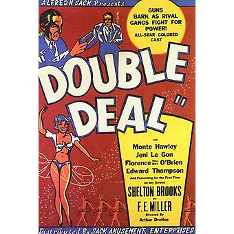 Dobbelt Deal film plakat (11 x 17)