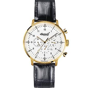 Ingersoll men's watch wristwatch automatic Houston IN2816GWH