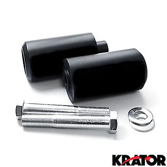 Black Frame Sliders Delrin Fairing Crash Protector For 2002 Yamaha YZF R6
