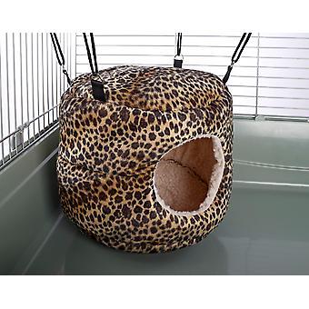 Little Friends Huge Rodent-hive Rat Ferret Toy Leopard Print