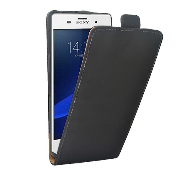 Flip Pocket Deluxe black for Sony Xperia Z3 compact D5803 M55W