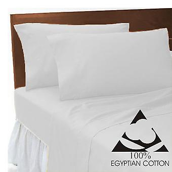 Egyptian Cotton 200 Thread Count Flat Bed Sheets Bed Linen