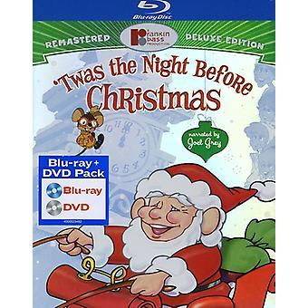 Twas the Night Before Christmas [BLU-RAY] USA import
