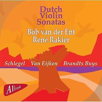 Van Der Ent / Schlegel / Eijken - nederlandske violinsonater: Schlegel, Van Eijken, køber [CD] USA import