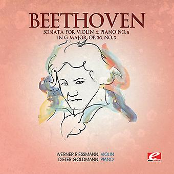 L.V. Beethoven - Beethoven: Sonate for fiolin & Piano No. 8 i G Major, Op. 30 nr. 3 [DVD] USA import