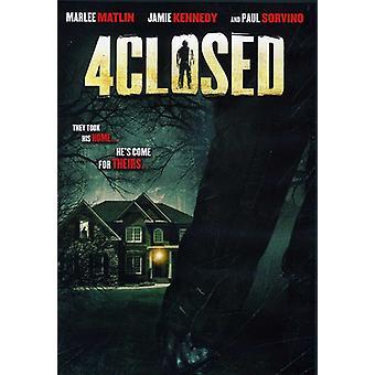 4Closed [DVD] USA import