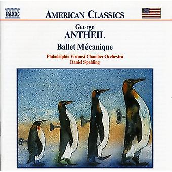 G. Antheil - Antheil: Ballet M Canique [CD] USA import