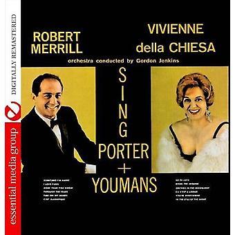 Robert Merrill & Vivienne Della Chiesa - Sing Porter + Youmans [CD] USA import