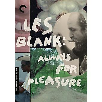 Les Blank: Always for Pleasure [DVD] USA import