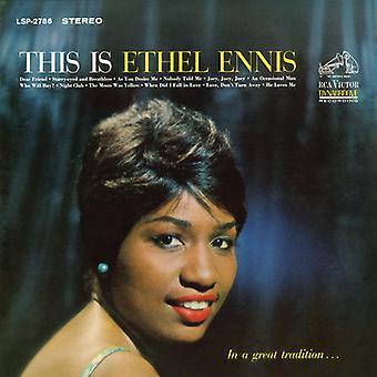 Ethel Ennis - importación de Estados Unidos este es Ethel Ennis [CD]