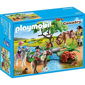 Playmobil 6947 Country Horseback Ride Toy