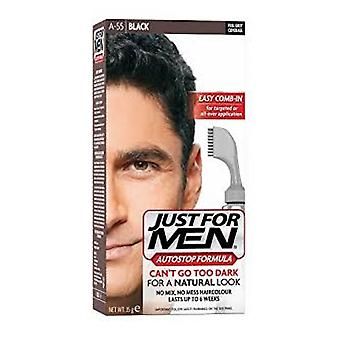 Just For Men Just For Men AutoStop Foolproof Haircolour Black (A55)
