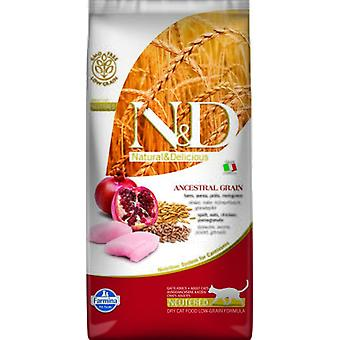 Farmina N&D Low Ancestral Grain Neutered Chicken and Pomegranate