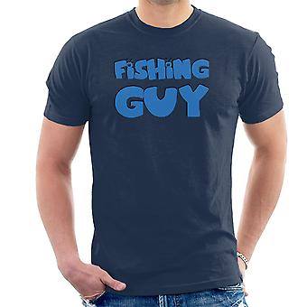 Fishing Guy Family Guy Logo Men's T-Shirt