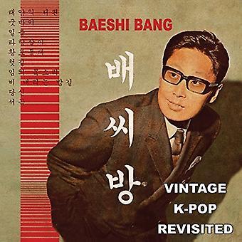Baeshi Bang - Vintage K-Pop Revisited [CD] USA import