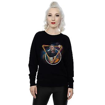 Marvel Women's Guardians Of The Galaxy Neon Ego Sweatshirt