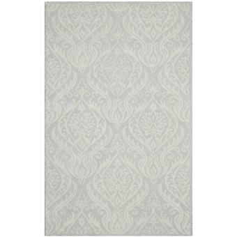 Avery Silver grå uld tæppe - Safavieh