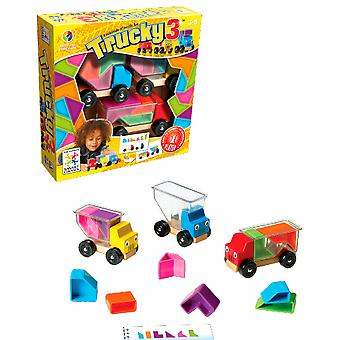 Smart Games Trucky 3 (Toys , Boardgames , Logic And Ingenuity)