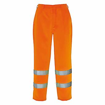 Portwest - Hi-Vis Safety Workwear Poly-cotton Overalls/ Coveralls