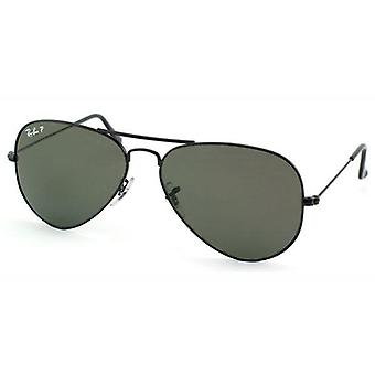 Ray Ban Aviator store polariseret Unisex Solbriller RB3025-002/58-58
