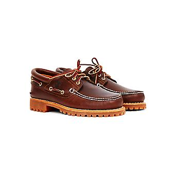 Timberland Lug Boat Shoes Brown