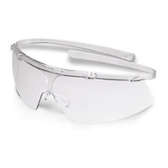 Uvex 9172-110 Super G Clear Optidur 4C Plus Safety Spectacles