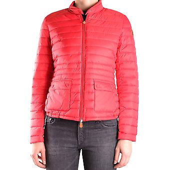 Save the duck women's MCBI269041O red nylon Quilted Jacket