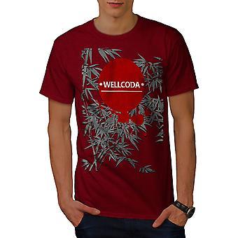 Japan Art Design Men RedT-shirt | Wellcoda