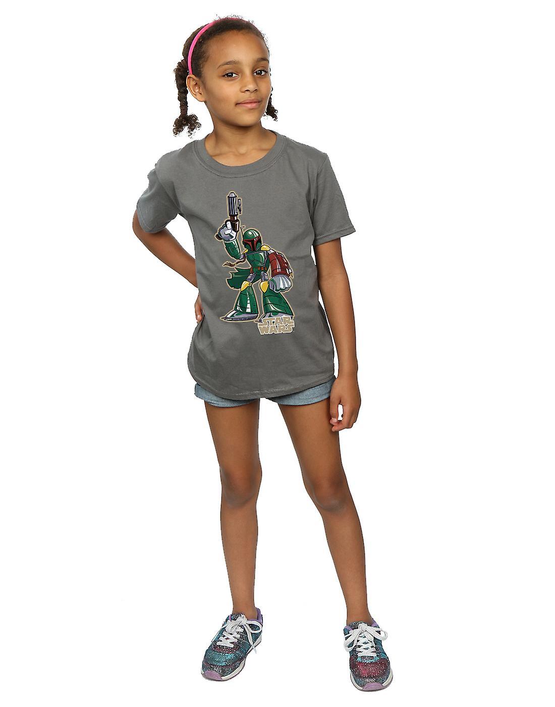 Filles de Star Wars Boba Fett caractère T-Shirt