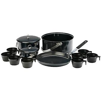 Vango 8 Person Non Stick Cook Kit Outdoor Cooking Equipment for Camping
