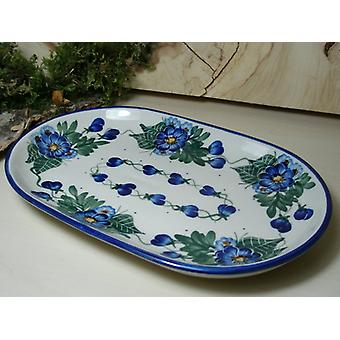 Plate, 23 x 15 cm, unique 48 - BSN 6576