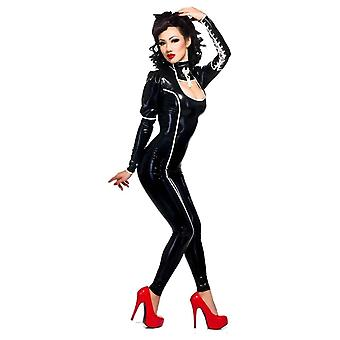 Westward Bound Ishtar Latex Rubber Catsuit. BLACK