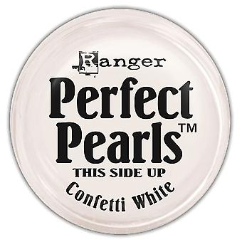 Perfect Pearls Pigment Powder .25oz-Confetti White