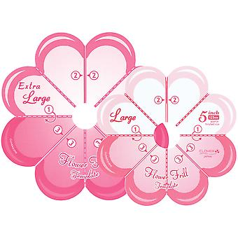Flower Frill Templates-Large & Extra Large