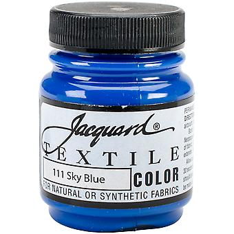 Jacquard Textile Color Fabric Paint 2.25oz-Sky Blue