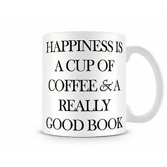 Happiness Coffee Printed Mug