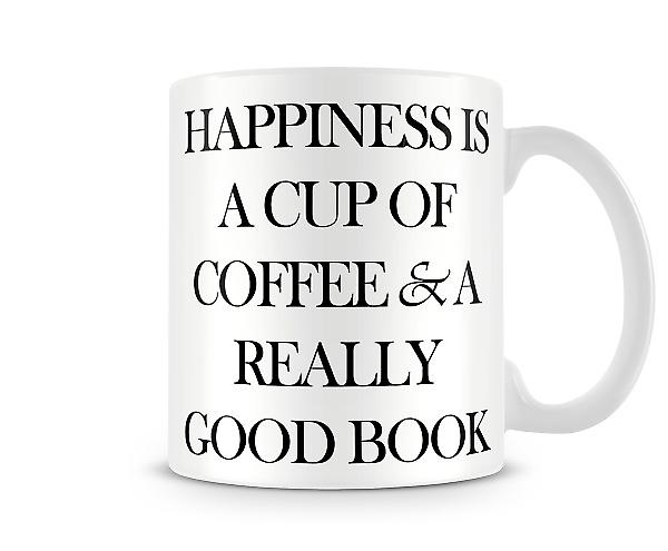 Happiness Coffee Printed Mug
