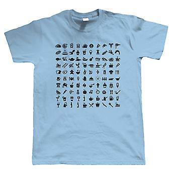 Food Icon, Mens T Shirt