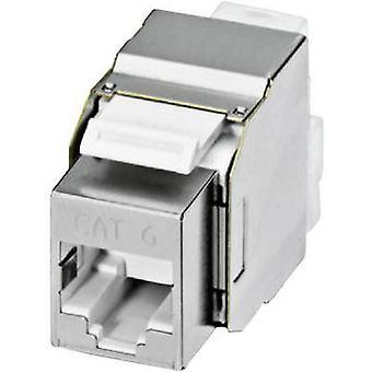 Phoenix Contact 1653168 VS-08-BU-RJ45-6/KA/LSA RJ45-Female Insert IP20 RJ45 Socket, horizontal mount Silver