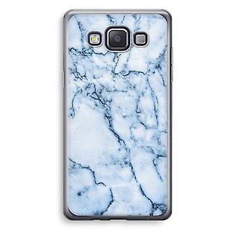 Samsung Galaxy A5 (2015) Transparent Case (Soft) - Blue marble