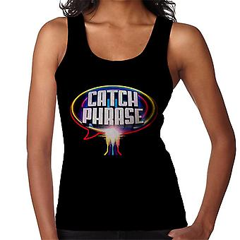 Retro Catchphrase Logo Women's Vest