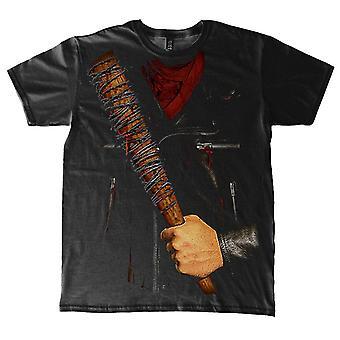 De walking dead T-Shirt Negan kostuum
